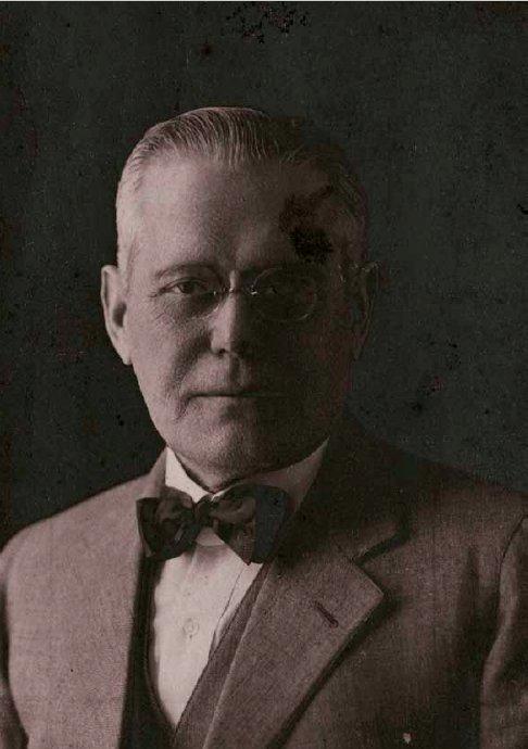 Retrato de Abelardo Lafuente