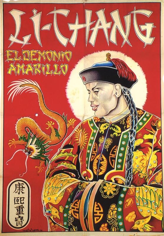 Cartel  del mago Li-Chang