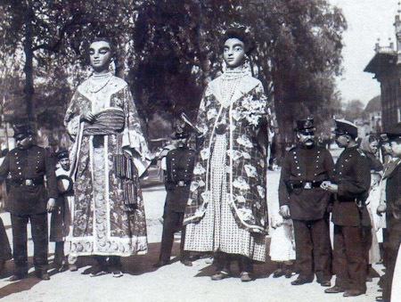 Los gigantes chinos de Lleida
