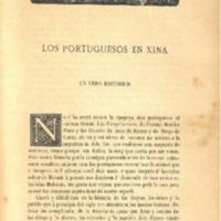 'Los Portuguesos en Xina', de Eduard Toda