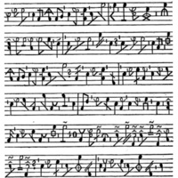 Fragment of L'Ideographie, by Sinibaldo de Mas