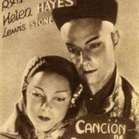 Cartel promocional de la película<em>Canción de oriente</em>