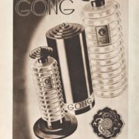 Anuncios del perfume Gong