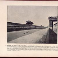 CHINA - Foso y muralla de la Ciudad reservada. Pekin