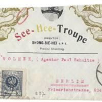 Sobre postal la troupe See-Hee
