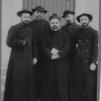 Spanish priests at Jiangnan, China, 1914