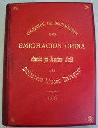 Documentos sobre inmigración china recopilados por Francisco Abellá